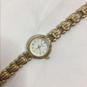 vintage gold and silver watch